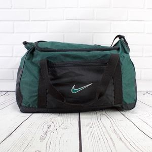 Nike Green With Black Small Gym Weekend Duffle Bag